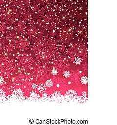Abstract purple vector winter background. EPS 8