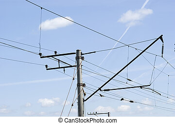 Electrical wires - Support and harnesses of electrical wires...