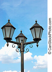 Neo-gothic street light