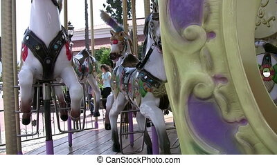 Merry-Go-Round Close up of Horse