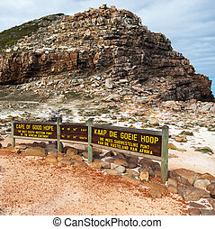 Cape of Good Hope in South Africa - square