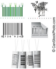 Bar codes  - Different bar codes
