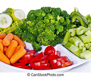 Fresh Vegetable Tray - Fresh vegetable tray