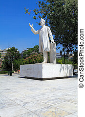Benizelos monument, Thessaloniki, Macedonia, Greece