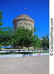 White Tower, Thessaloniki, Macedonia, Greece