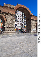 Arch of Galerius, Thessaloniki, Macedonia, Greece