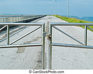 Double Lock for security of road
