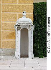 Sentry box in Schonbrunn Castle, Vienna
