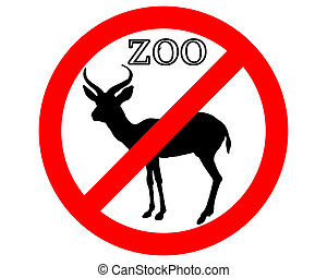 Antelope in zoo prohibited