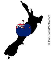 New Zealand apple