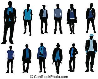 Man fashion - Male models