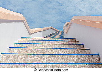stairs into sky