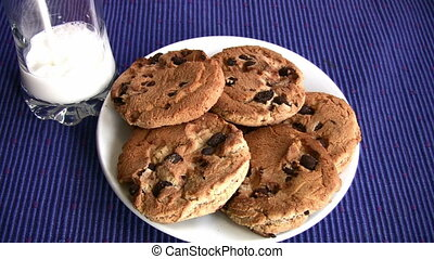 Yummy Chocolate chip cookies Full - Milk and Chocolate chip...