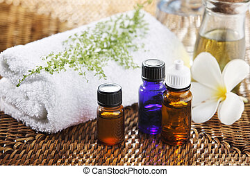 aromatherapy - still life of the aromatherapy