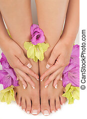 pedicure, manicure, spa