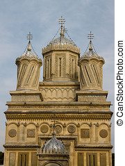 Beautiful monastry in Arges,Romania - Curtea de Arges...