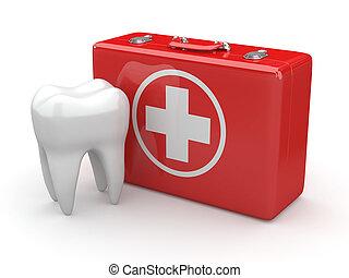 Stomatology, diente, médico, Kit