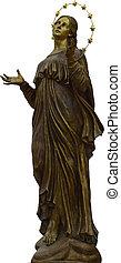 Madonna - Bronze statue of Madonna