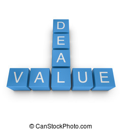 Value and deal 3D crossword