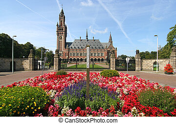 Peace Palace with Flowers