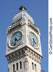 Paris Clocktower - Paris: Gare de Lyon clocktower