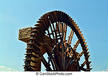 Waterwheel at Malacca