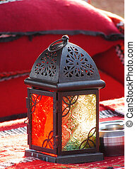 Arabia lantern - arab lamp with a candle inside...
