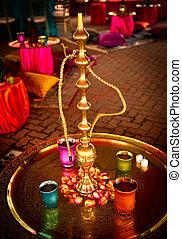 narguile, indio, boda