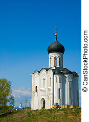 Church of Intercession upon Nerl River. (Bogolubovo,...