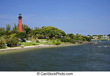 Jupiter Inlet Lighthouse - Historic Jupiter Inlet Lighthouse...
