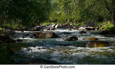 Mountain river 3