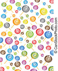 seamless candy pattern