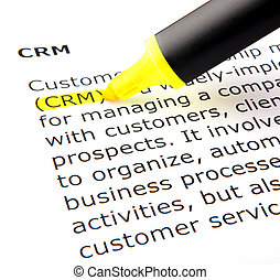 CRM - Image of CRM