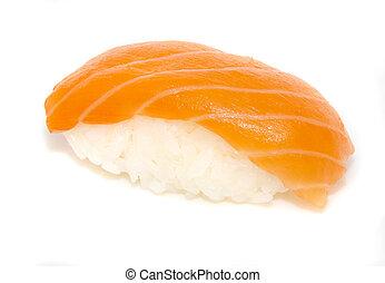 japón, tradicional, alimento, -, Sushi
