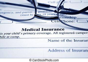 orvosi, Biztosítás