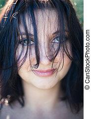 Haare - Gesicht