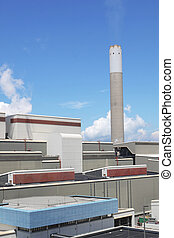 coal fired power station