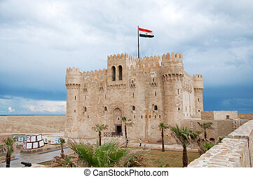 ancient castle in Alexandria
