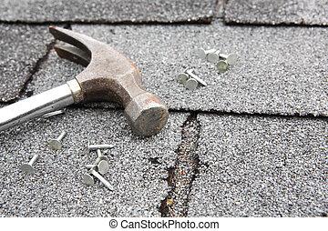 techo, reparación