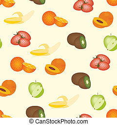 fruits pattern - seamless fruits pattern
