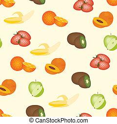 fruits pattern - seamless fruits pattern
