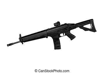 556 NATO Tactical Rifle - Image of a 556 NATO Tactical Rifle...