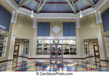Lobby at Middle School
