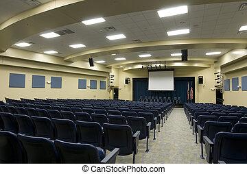 Auditorium in Middle School in Florida.