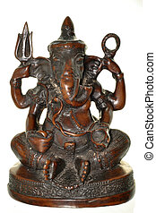 Elephant Headed Hindu Deity