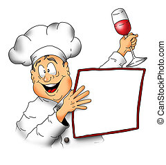 Chef With Menu001