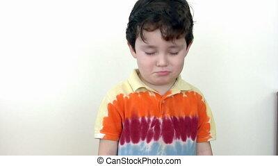 A Boy Crying