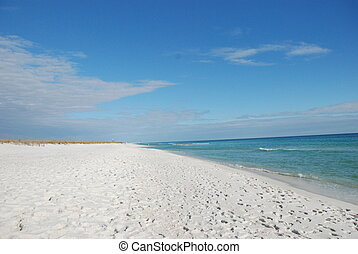 White Sand Beach Florida - White Sand Beach Destin - Fort...