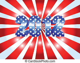2012 presidential election sunburst - Background for the...