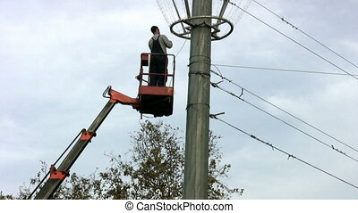 Powerline Workers - 	Powerline Workers
